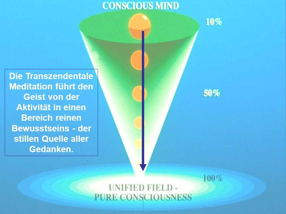 Zunahme von Kohärenz im Gehirn Travis F, Grosswald S, Stixrud W.