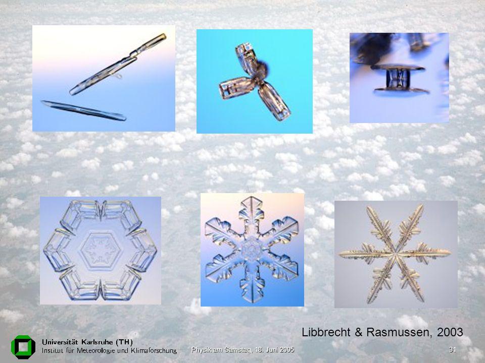 Physik am Samstag, 18. Juni 200531 Libbrecht & Rasmussen, 2003