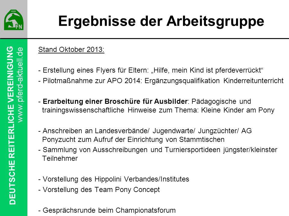 DEUTSCHE REITERLICHE VEREINIGUNG www.pferd-aktuell.de Das sind unsere Mitglieder von morgen…