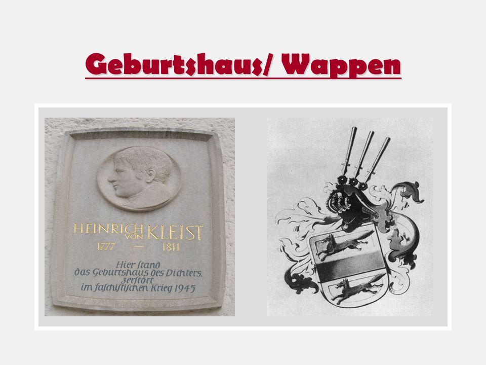 Geburtshaus/ Wappen