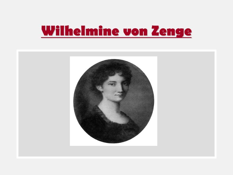Wilhelmine von Zenge