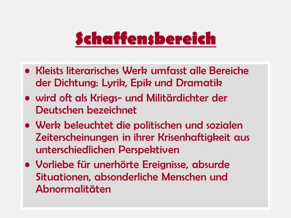 Vergleich zu Ödipus Kleist: Der zerbrochene Krug Sophokles: König Ödipus analytische Struktur, d.h.