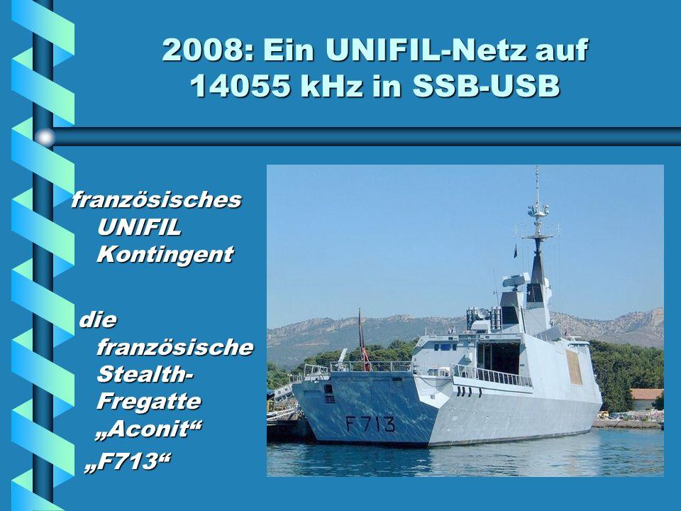 2008: Ein UNIFIL-Netz auf 14055 kHz Wir bedanken uns bei Hani OD5TE und Riri OD5RI für ihre Hilfe beim Vertreiben des UNIFIL-Netzes Hani (2.v.l.) und Riri (mit rotem Pulli) bei einer Nikolaus- Bescherung der RAL in einem Waisenhaus in Beirut