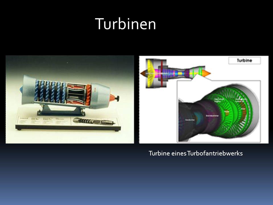 Schubdüse 3-stufige Turbine eines GE J79