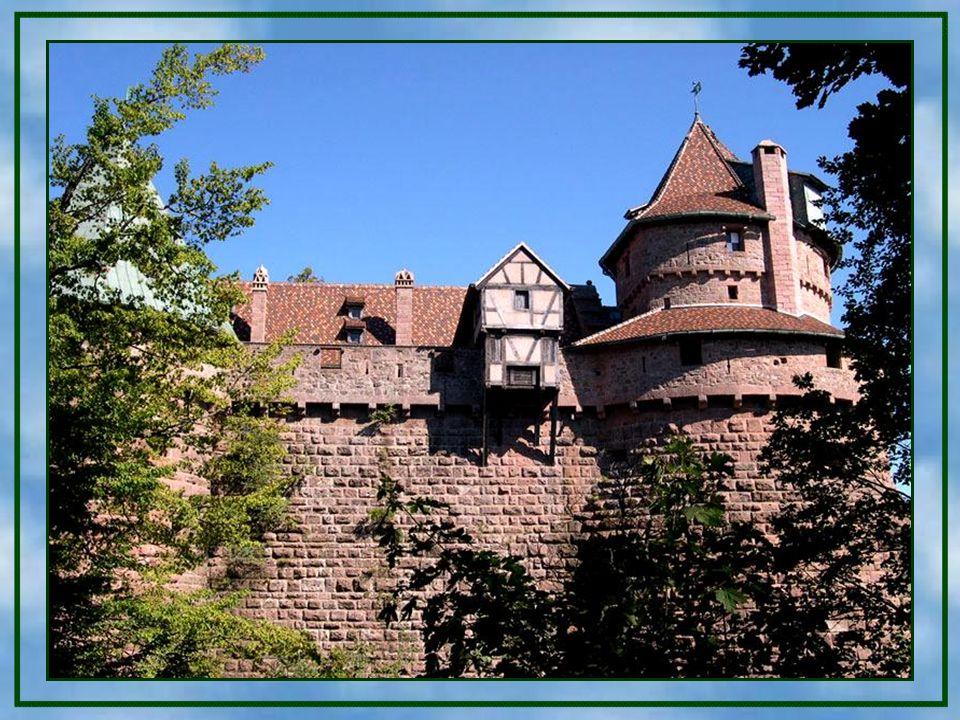 Von der Burg aus konnten die Orte und Handelswege in diesem Teil des Oberrheingrabens beherrscht werden. Von der Burg aus konnten die Orte und Handels