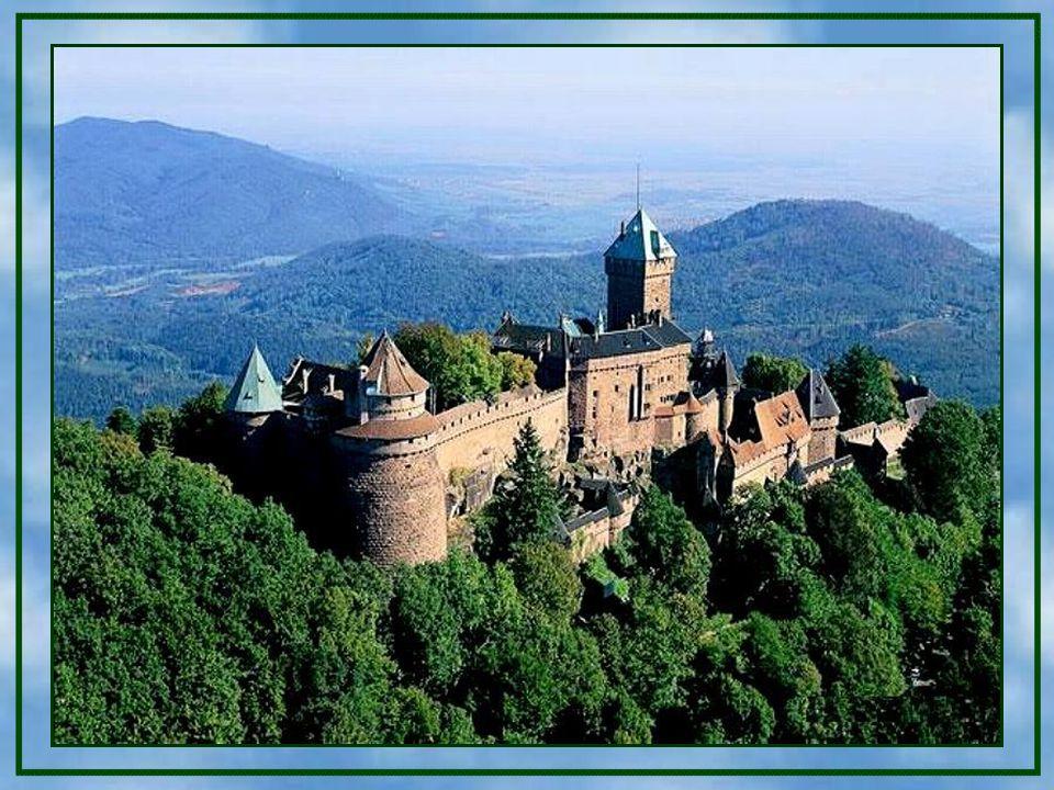 Im Jahre 1899 schenkte die Stadt Schlettstadt die Burg Kaiser Wilhelm II., der sie in den Jahren 1901– 1908 durch den Berliner Architekten und Burgenf