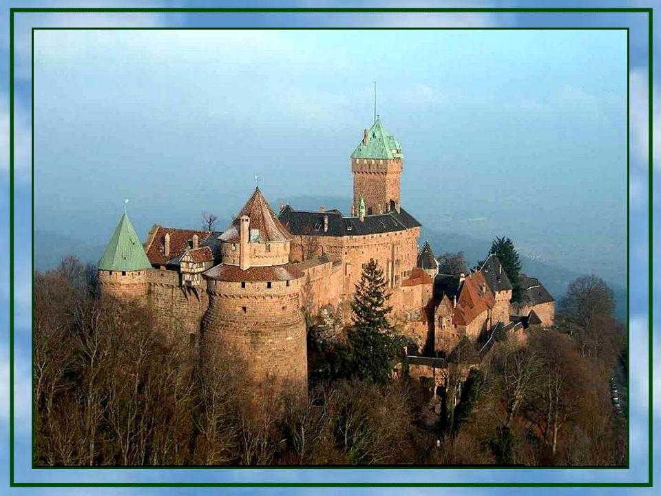 … dann die Herzöge von Lothringen und dem Unterelsass, die Landgrafen von Werd, die Herren von und zu Rathsamhausen, von Oettingen und von Berckheim, die Grafen von Thierstein, deren großartiger Bau nun wieder erstanden ist.
