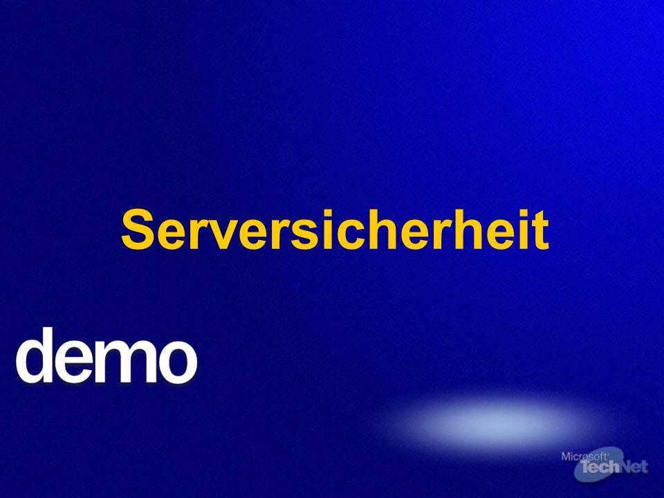 Serversicherheit