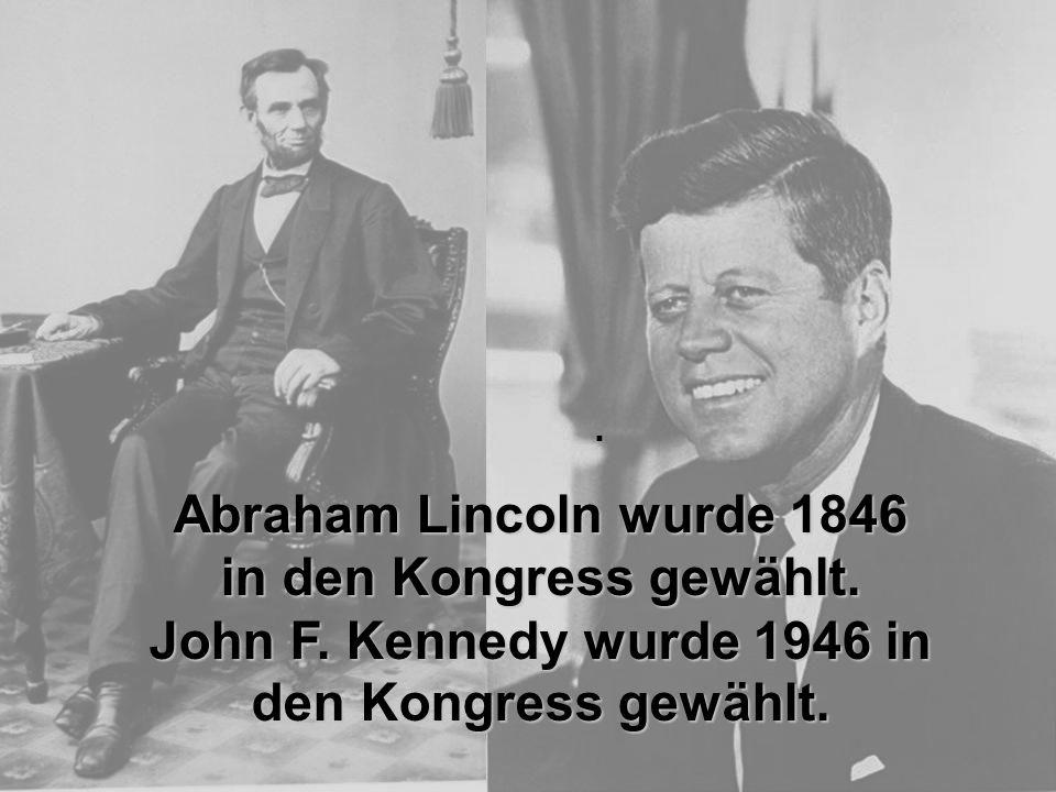 Abraham Lincoln wurde 1846 in den Kongress gewählt.