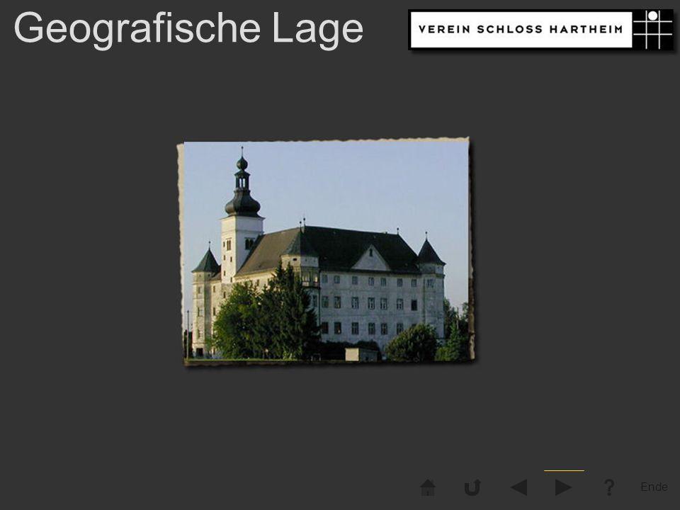 Ende Eferdinger Becken Schloss Hartheim liegt in einer Weitung des Donautales zum sogenannten Eferdinger Becken ......