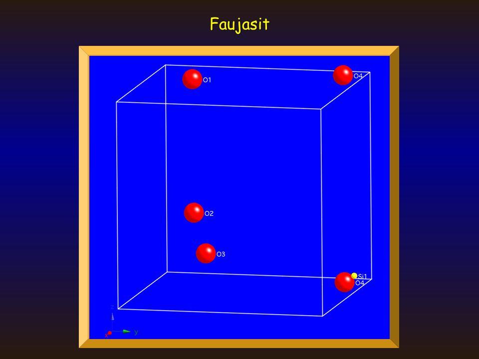 Ionenkristalle Dichteste Kugelpackung Schichten Tetraeder- und Oktaederlücken T T TT OO OT T O Um jeden Kugel: 8 T 6 O Pro Kugel: 8x1/4=2 T 6x1/6=1 O