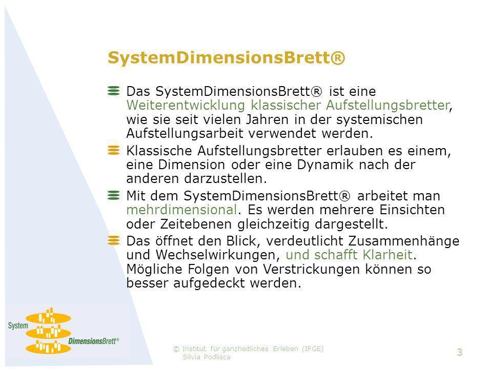 SystemDimensionsBrett® Das SystemDimensionsBrett® ist eine Weiterentwicklung klassischer Aufstellungsbretter, wie sie seit vielen Jahren in der systemischen Aufstellungsarbeit verwendet werden.
