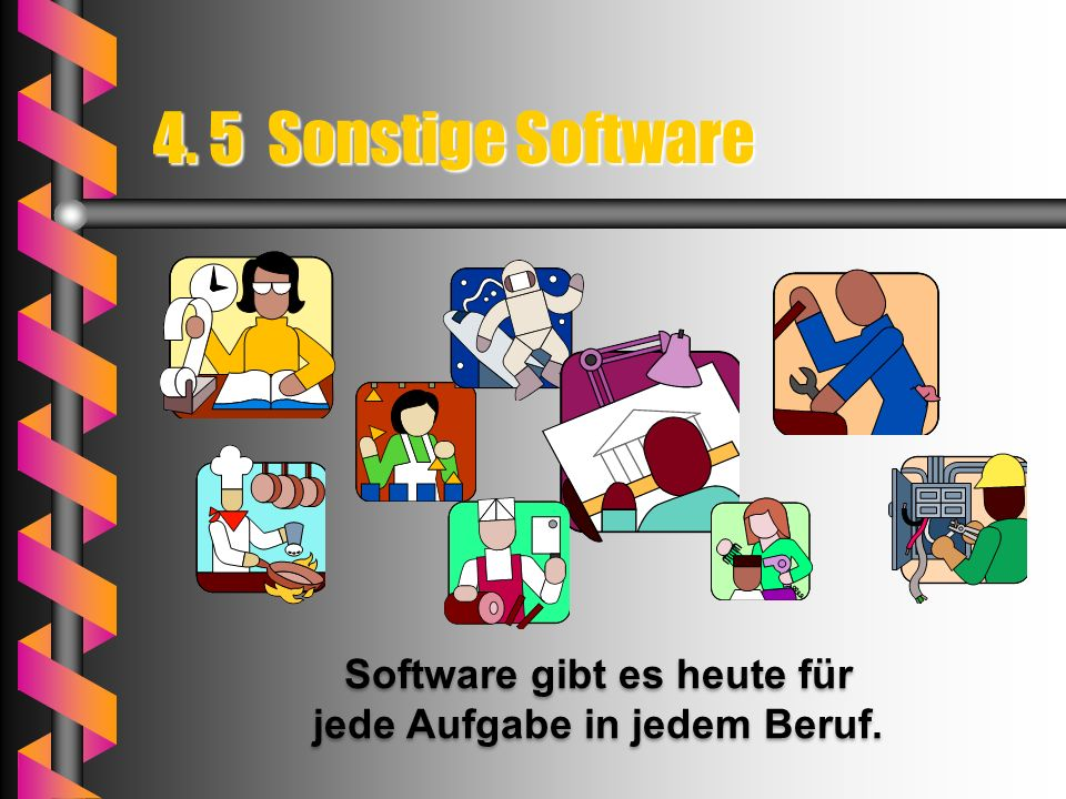 Beispiele für Office-Pakete - Microsoft Office - LibreOffice (OpenOffice) - Coral Word Perfect Office -Lotus Smart Suite