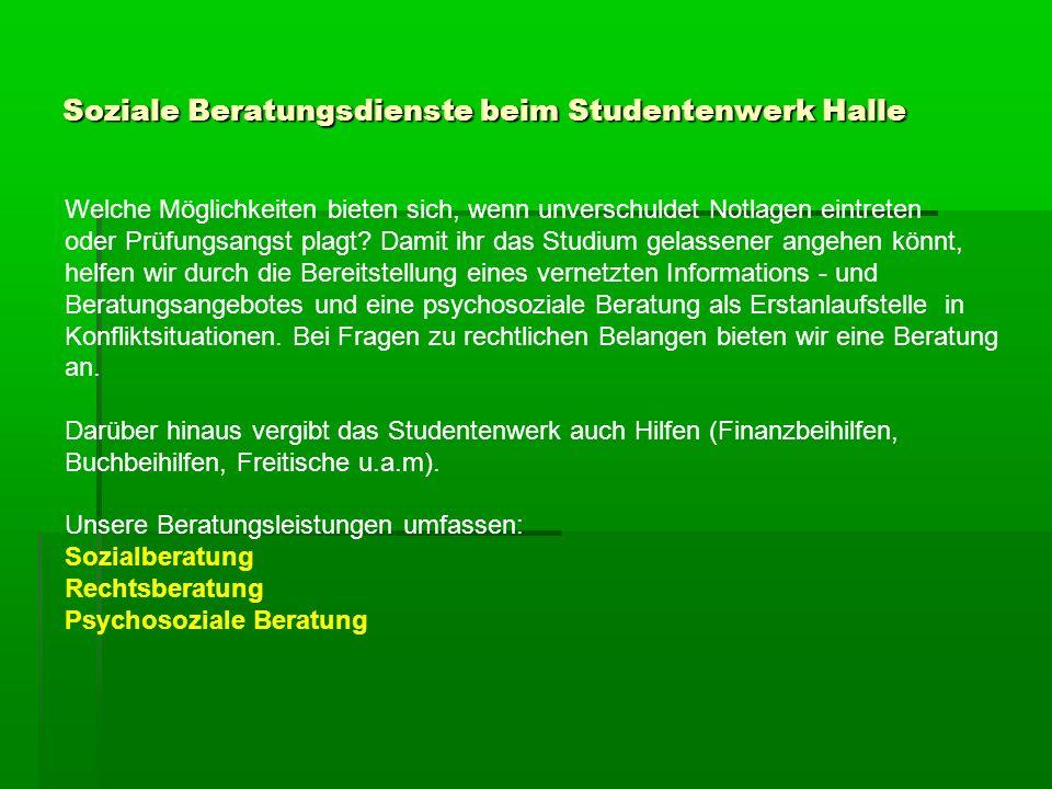 Studieren mit Handicaps 3.Stipendien und Stiftungen für körperbehinderte Studierende Weitere Informationen finden Sie beim Deutschen Studentenwerk unter: Studium und Behinderung www.studentenwerke.de/main/default.asp?id=06201