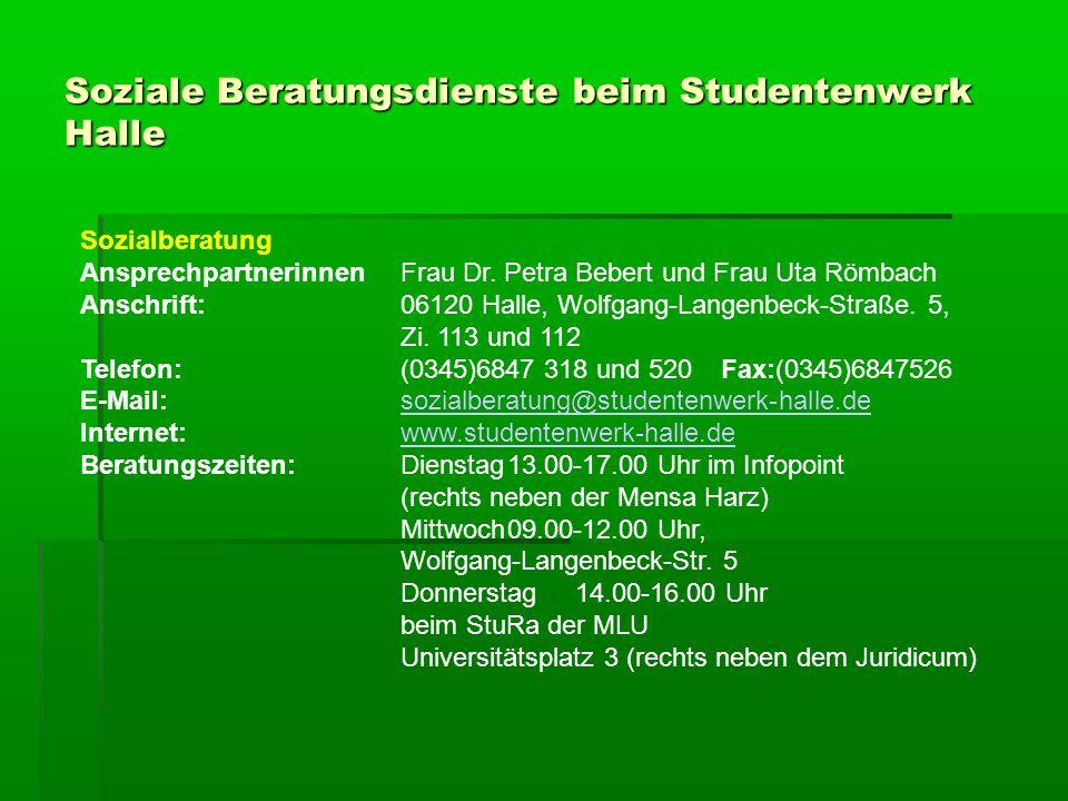 Studieren mit Handicaps 1.Besonderheiten beim BAföG Verlängerung der Förderungsdauer (§ 15 Abs.