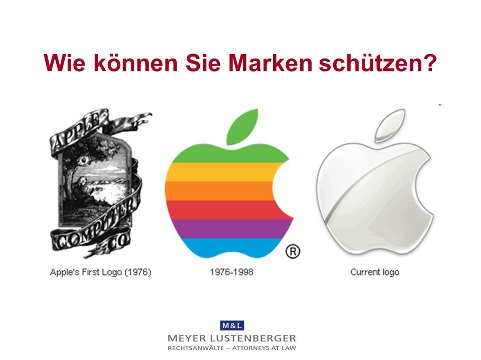 Wie können Sie Marken schützen? wird nicht benutzt durch THE BRIDGE (zumindest wenn beide Zeichen als Marken eingetragen sind)