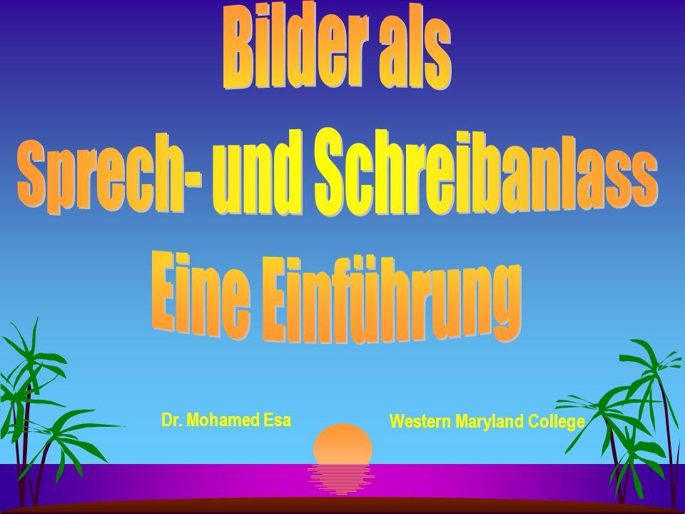Literatur: eine Auswahl Brandi, Marie-Luise u.a.(1988): Bild als Sprechanlass: Sprechende Fotos.