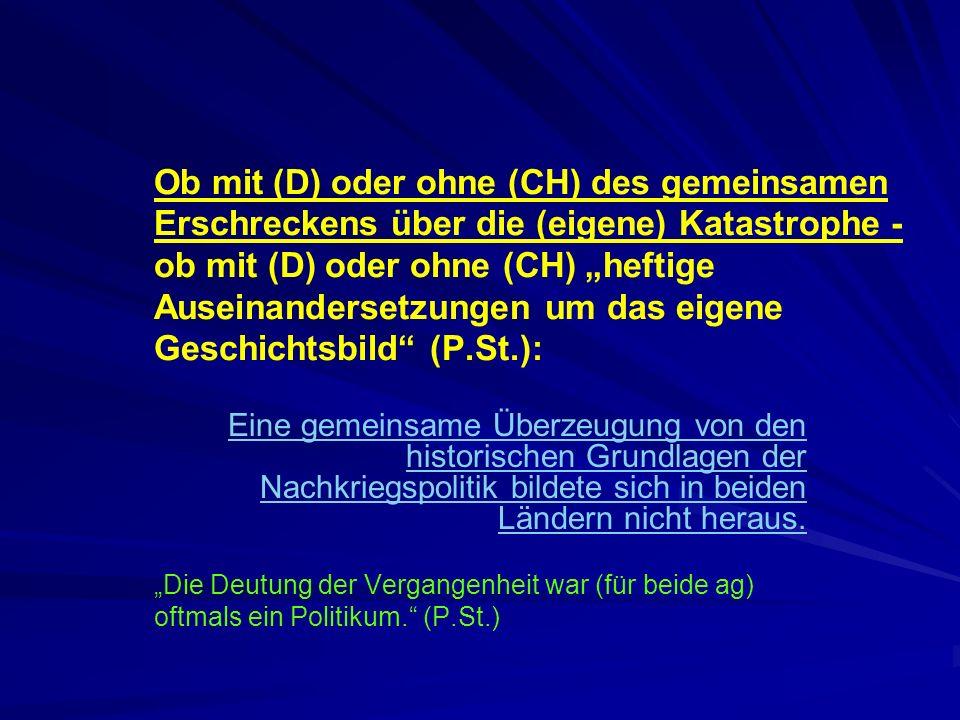 Katastrophe - lernen - Geschichte: Wann lernen wir (besser/mehr) .