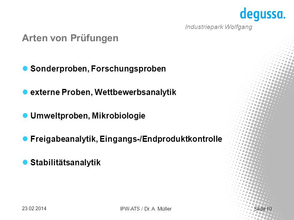 Slide 10 23.02.2014 IPW-ATS / Dr.A.