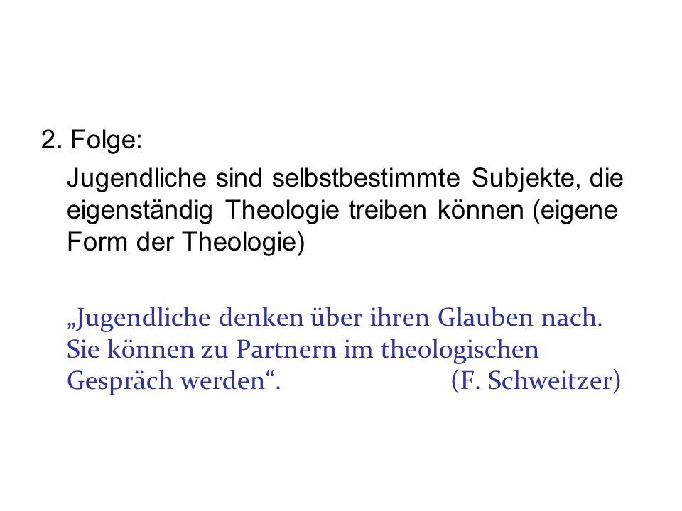 Theologie von Jugendlichen.