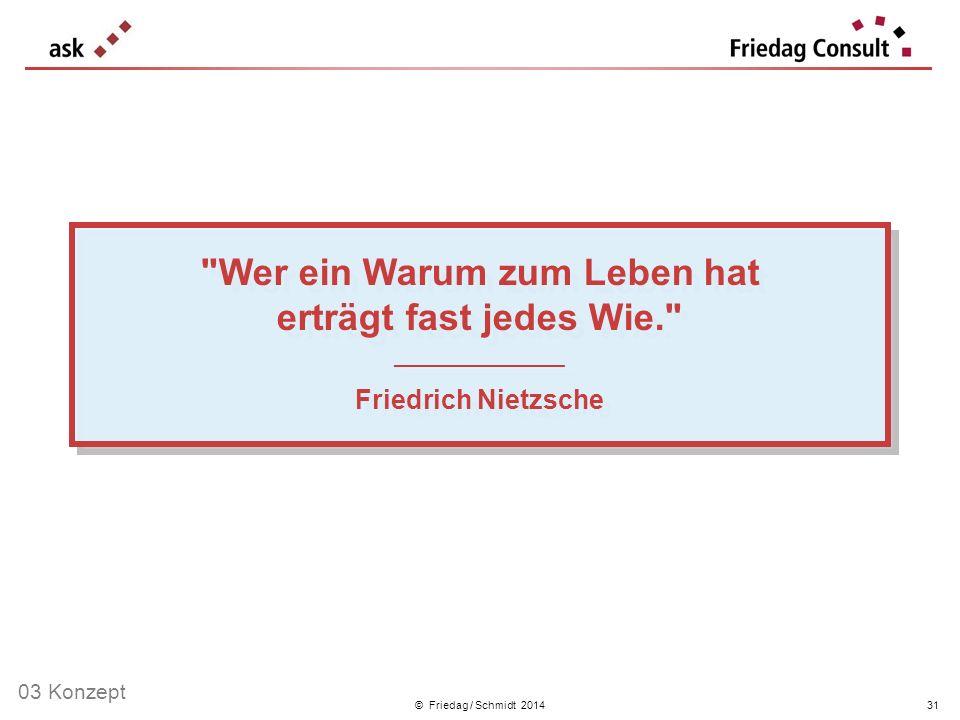 © Friedag / Schmidt 2014