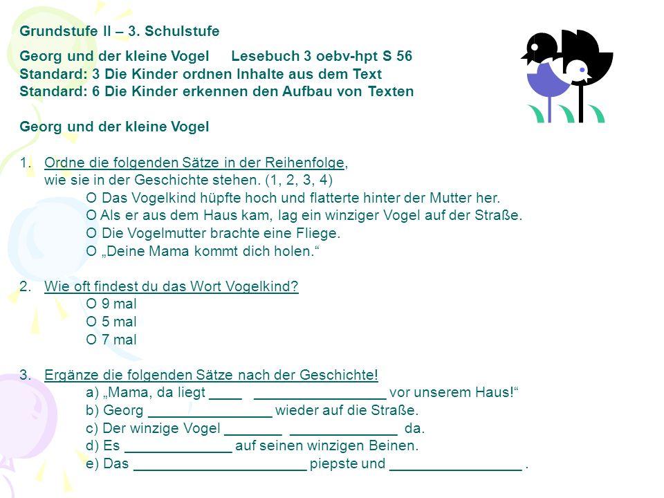 Grundstufe II – 3.