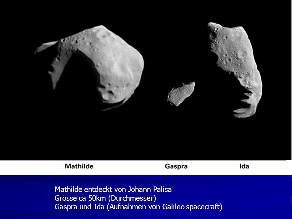DON QUIJOTE Sancho Pansa HIDALGO 500 m Durchmesser Sancho soll auf dem Asteroiden aufschlagen um die Beschaffenheit Des Materials zu untersuchen Don Quijote ORBITER KARDINALFRAGE: Können wir Asteroidenbahn ablenken?