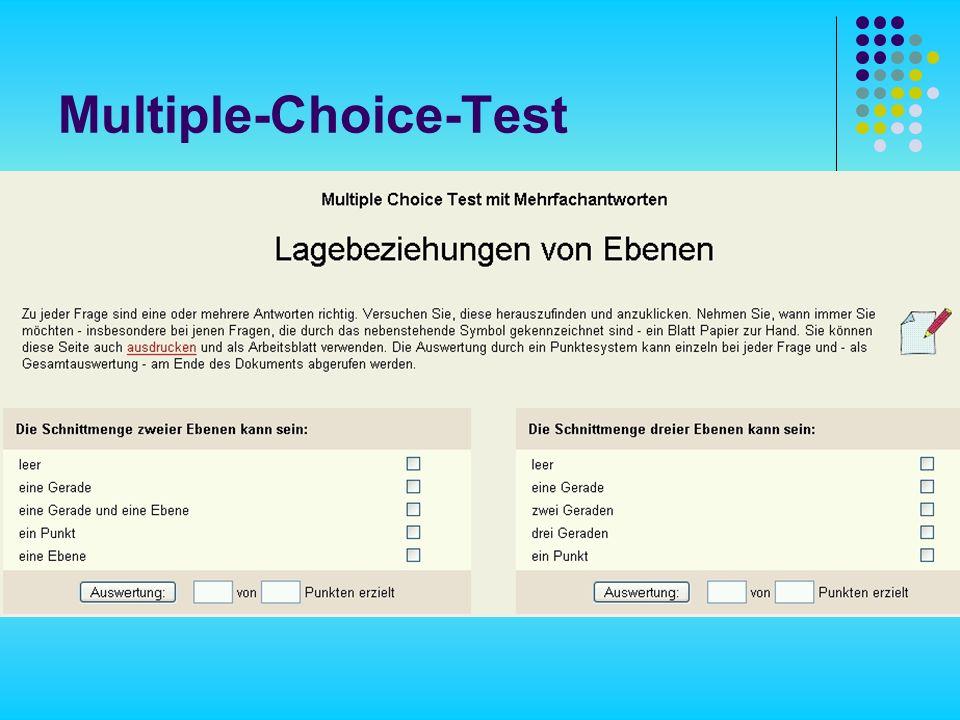 Multiple-Choice-Test