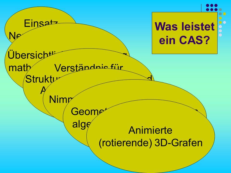 Kochrezept für Derive 1.Markieren des Ausdrucks, der grafisch dargestellt werden soll.