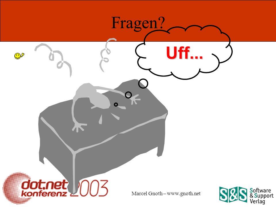 Marcel Gnoth – www.gnoth.net Fragen Uff...