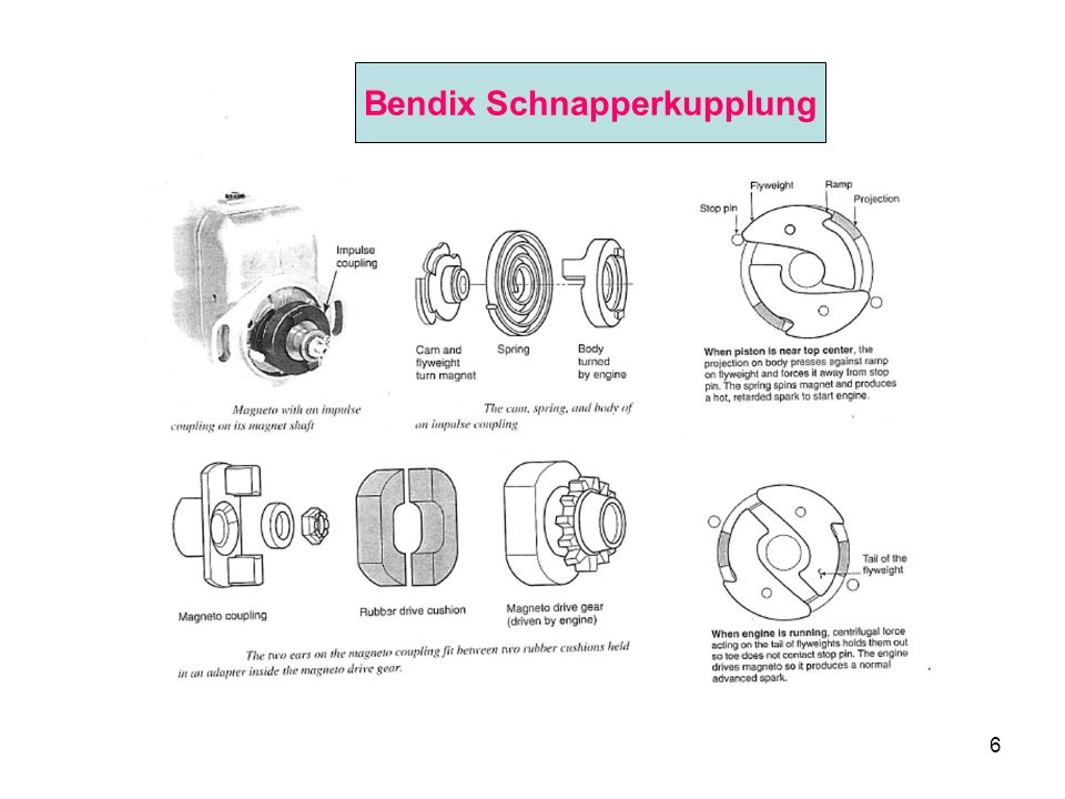 6 Bendix Schnapperkupplung