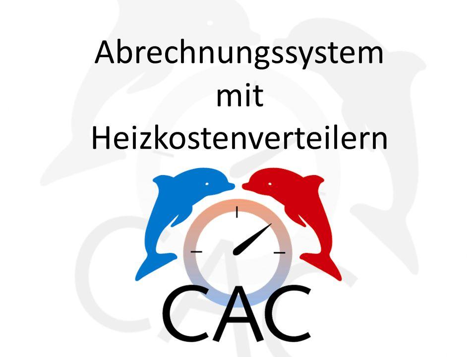 Abrechnungssystem mit Heizkostenverteilern