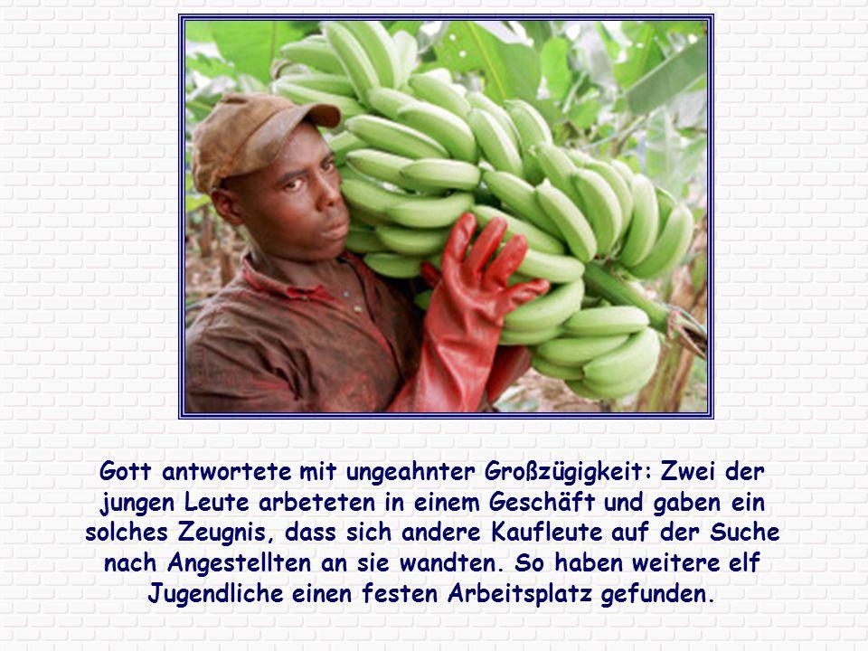 Im Kongo stellte eine Gruppe junger Leute Kunstpostkarten her, die in Deutschland verkauft wurden.