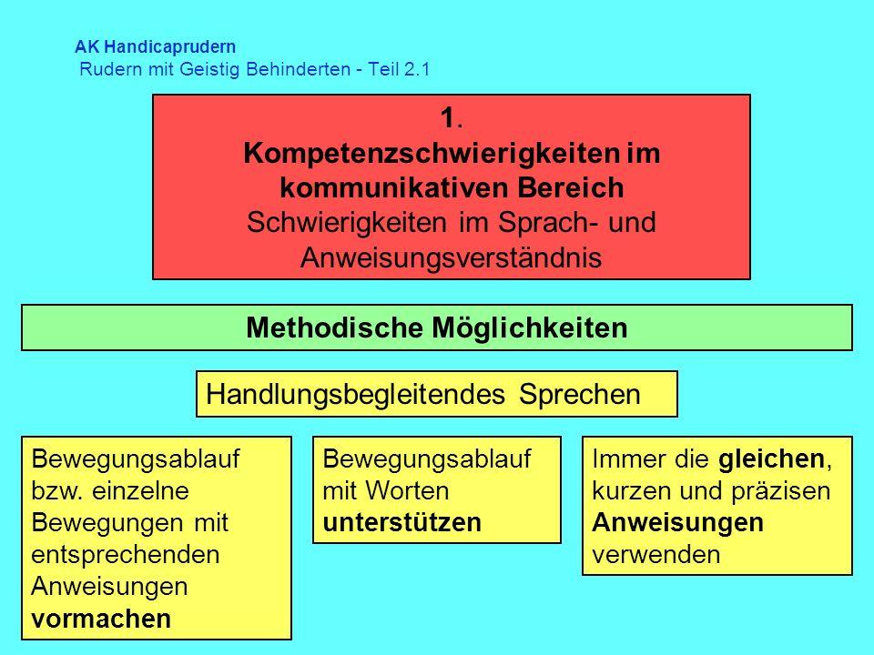 AK Handicaprudern Rudern mit Geistig Behinderten - Teil 2.1 1.