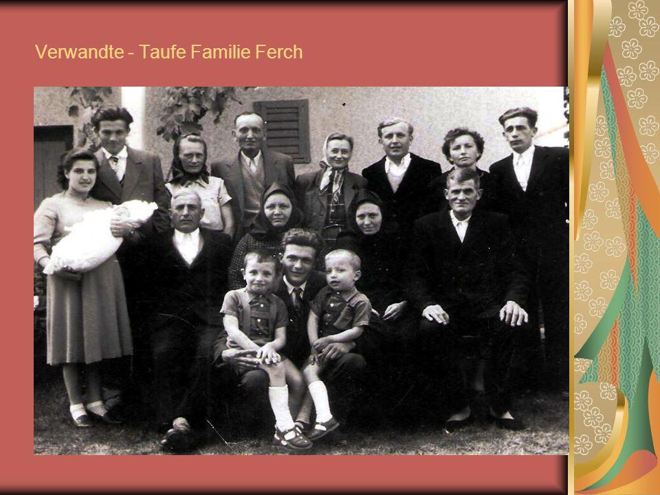 Verwandte - Taufe Familie Ferch
