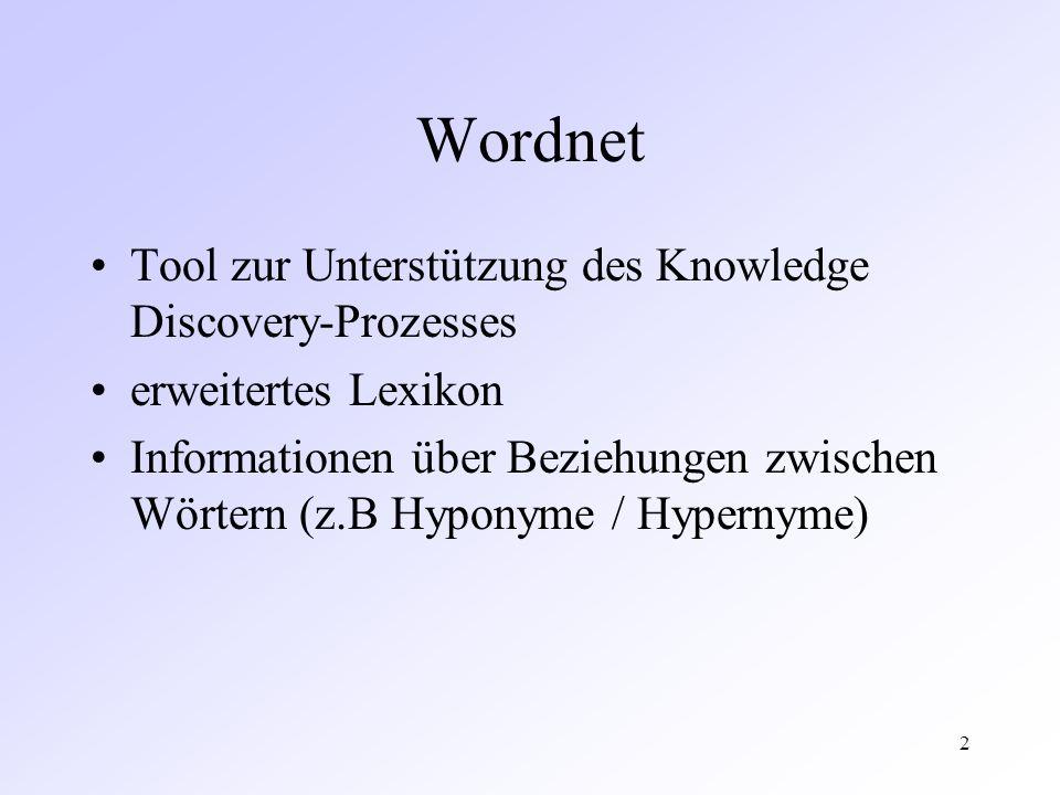 3 Alembic Workbench Toolsammlung zur Wissensextraktion aus unbekannten Texten automatisches tagging der Texte mittels Process-Doc-Utility (z.B.
