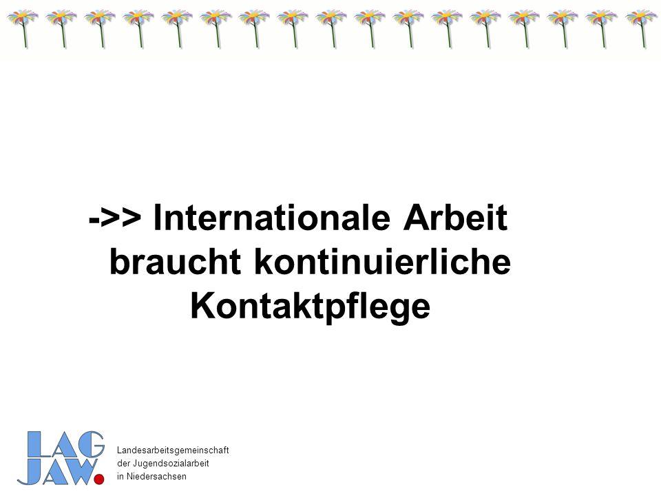 Landesarbeitsgemeinschaft der Jugendsozialarbeit in Niedersachsen Im Rahmen des Nds.