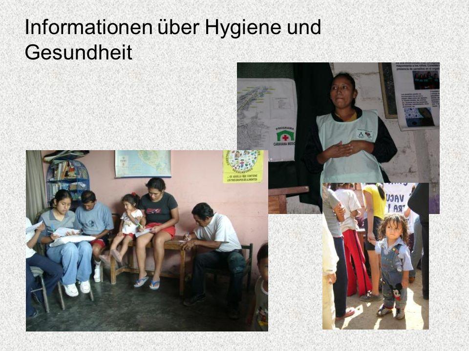 Informationen über Hygiene und Gesundheit