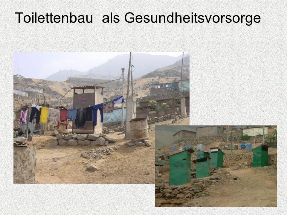 Toilettenbau als Gesundheitsvorsorge