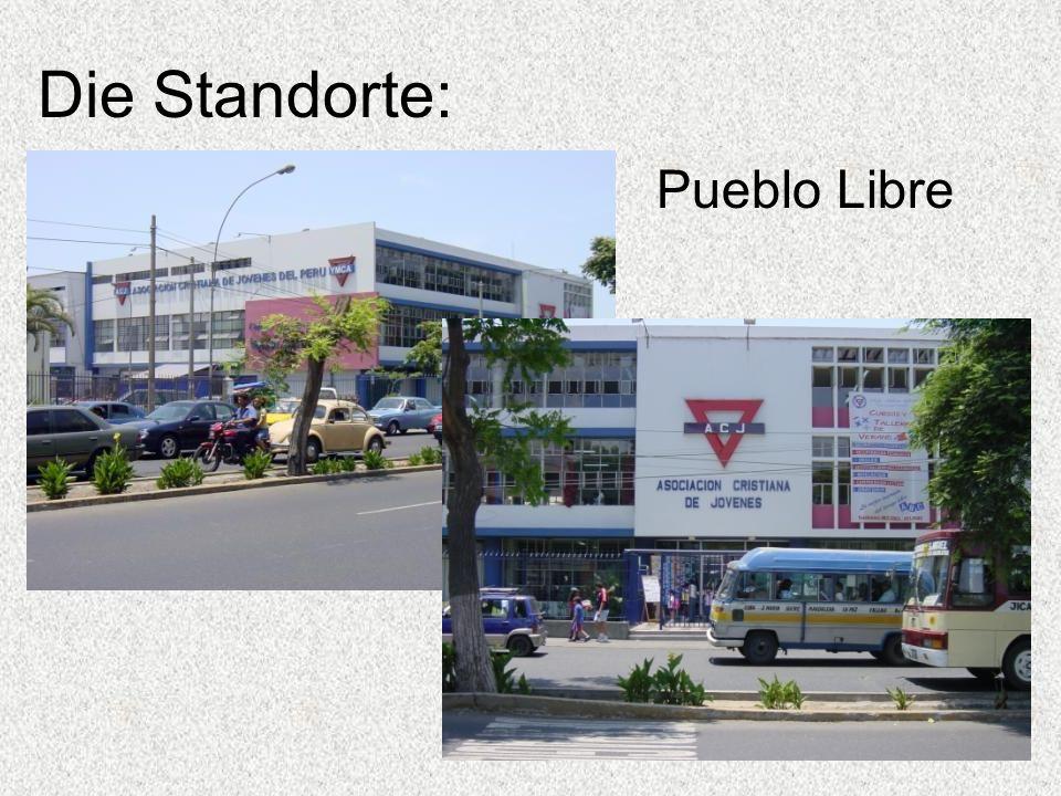 Die Standorte: Pueblo Libre