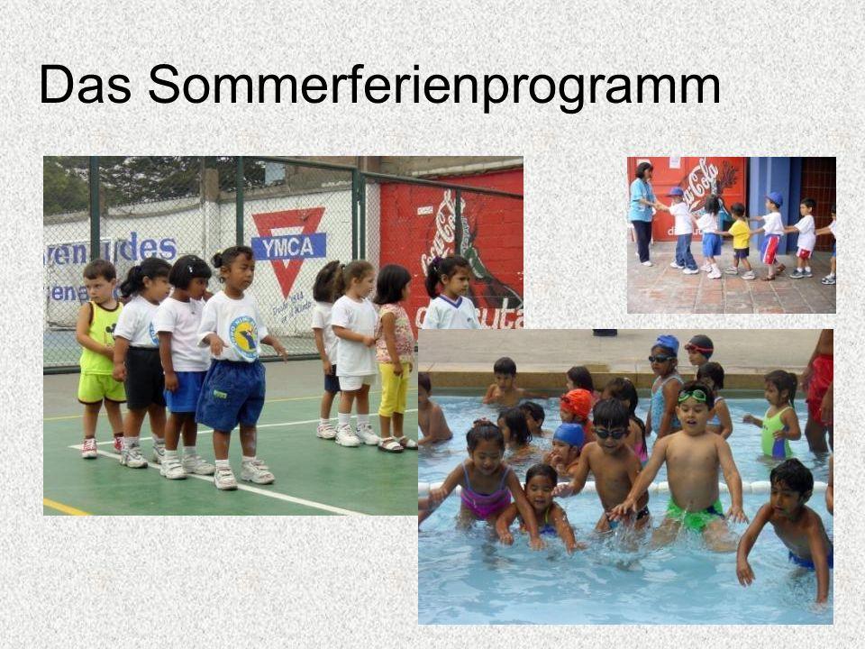 Das Sommerferienprogramm