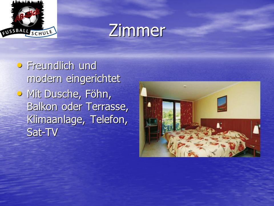 Zimmer Freundlich und modern eingerichtet Freundlich und modern eingerichtet Mit Dusche, Föhn, Balkon oder Terrasse, Klimaanlage, Telefon, Sat-TV Mit