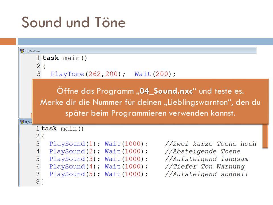 Sound und Töne