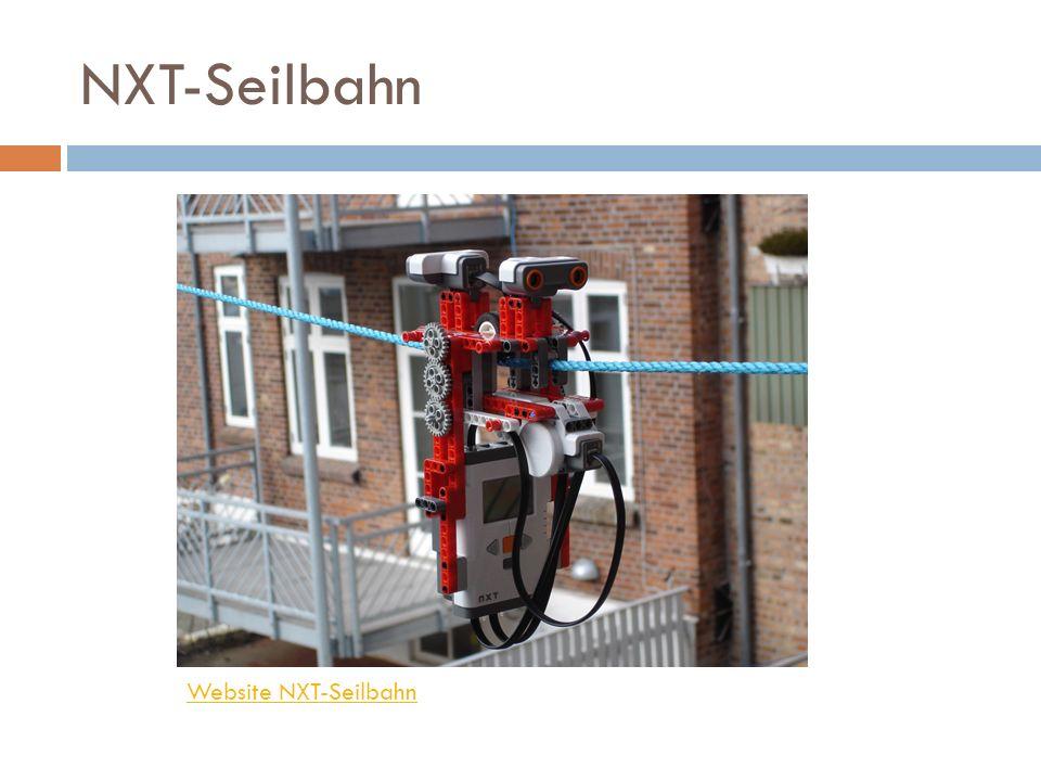 NXT-Seilbahn Website NXT-Seilbahn