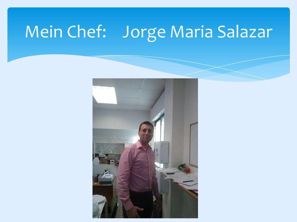 Mein Chef: Jorge Maria Salazar