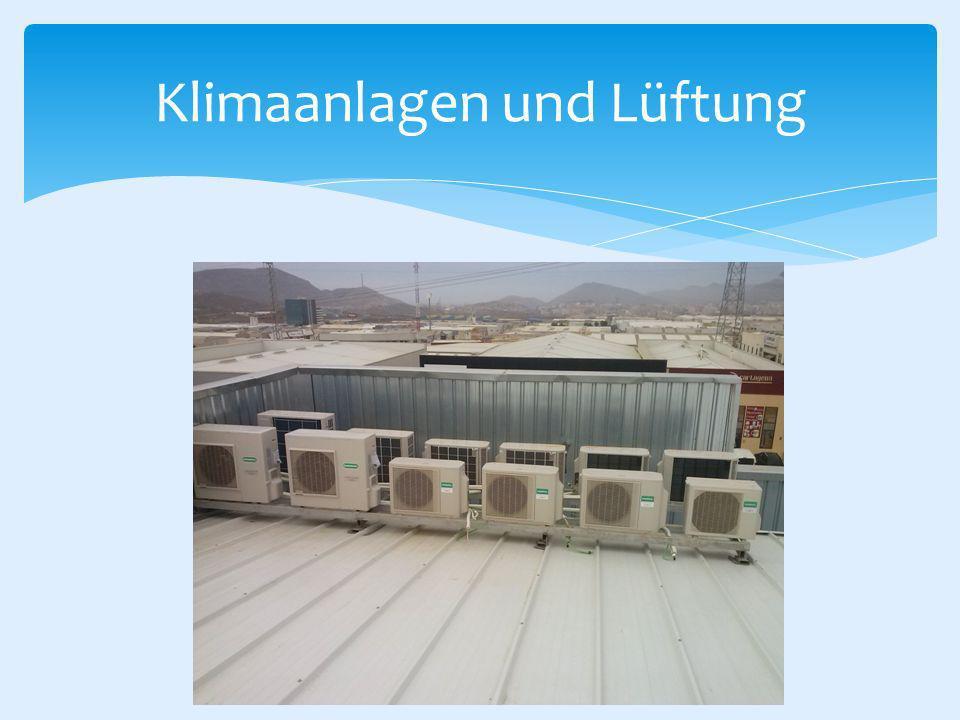 Klimaanlagen und Lüftung