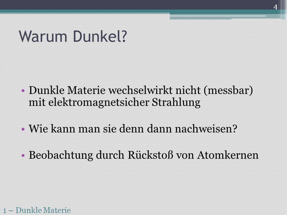 Natur der dunklen Materie.1 – Dunkle Materie 5 Baryonisch (gr.