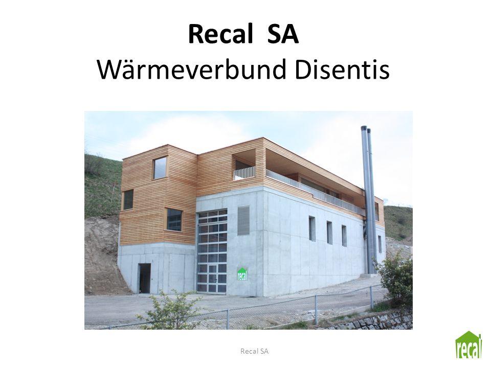 Recal SA Wärmeverbund Disentis Recal SA