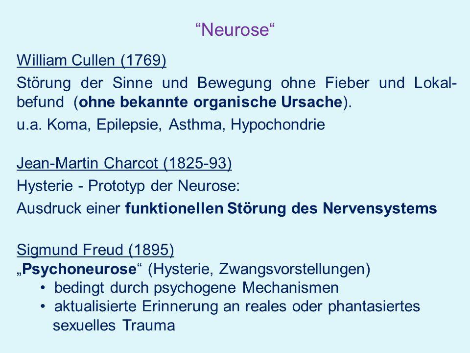 aus: Möller, Laux, Kapfhammer (Hrsg.): Psychiatrie und Psychotherapie, Springer-Verlag