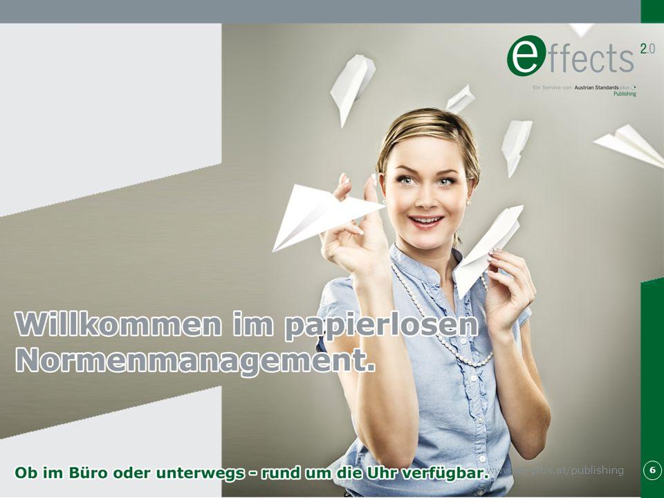 Professionelles Normenmanagement 7 Professionelles Normenmanagement ist gefragter denn je.